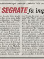 Cristina Vaira Press Release © All Rights Reserved. Segrate Oggi_6/172014