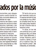 Reforma – Jandro & Cristina enamorados por la música